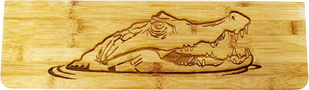 Laser engraving wood